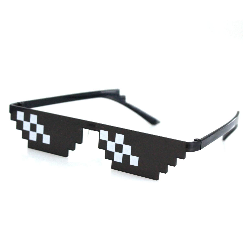 SHI WU Gafas de sol Thug Life (Paquete de 6), gafas de ...