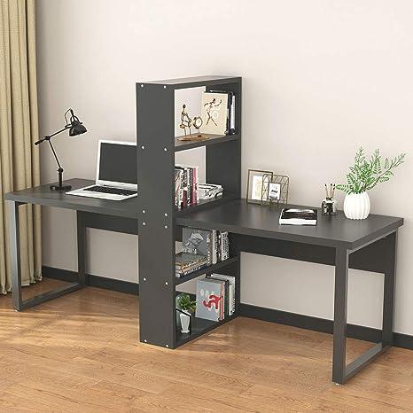 Little Tree - Escritorio para ordenador de oficina con estantes ...