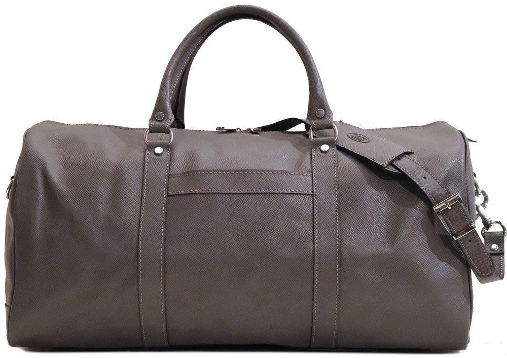 Lugano Cabin Travel Duffle Bag in Saffiano Leather 24808981afca4