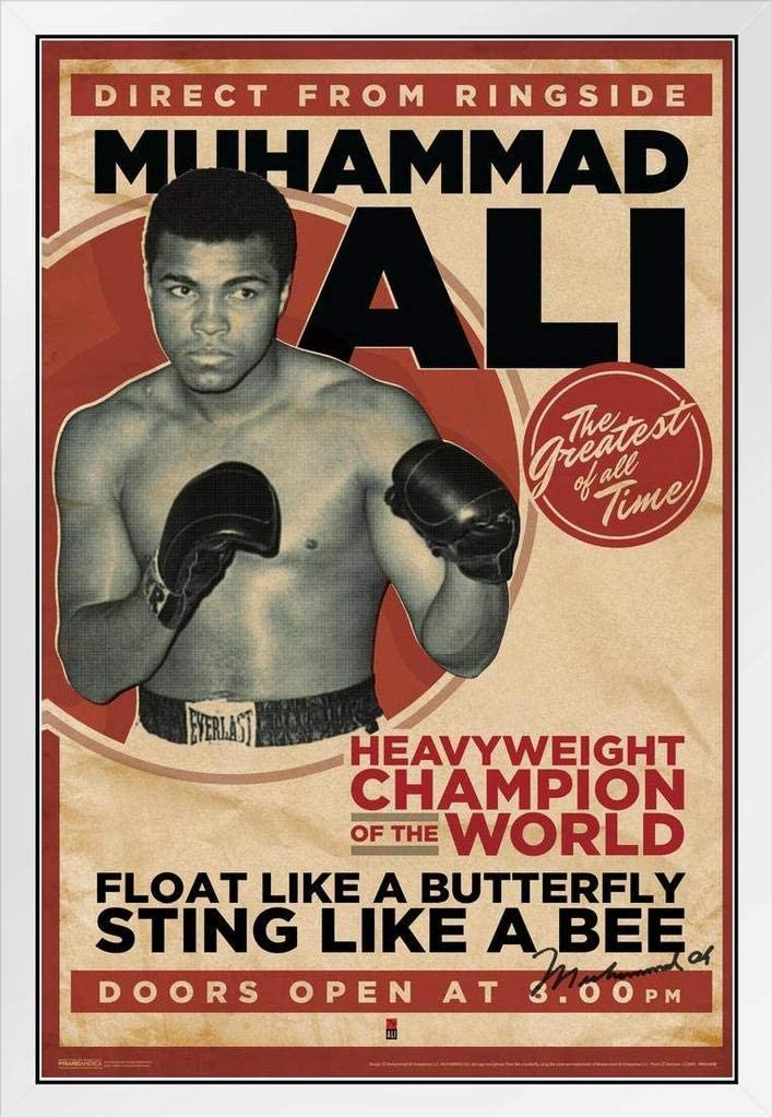 MOHAMMED ALI MUHAMMED BOXING  Wall Art Poster Grand format A0 Large Print