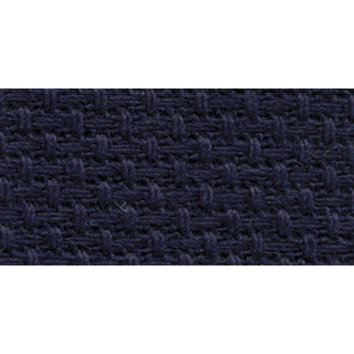 DMC GD1436-5225 Classic Reserve Gold Label Aida Fabric Box, Navy, 14 Count