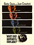 RetroArt Whatever Happened to Baby Jane, Bette Davis, Joan Crawford, Movie Poster (30x40cm Art Print)