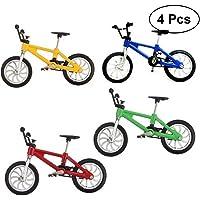 TOYMYTOY 4 piezas Juguetes de bicicleta de aleación