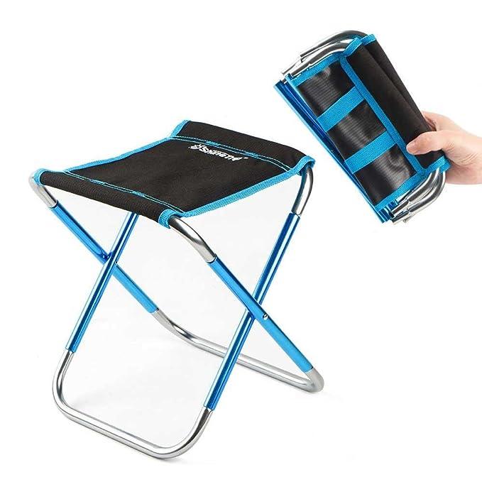 Amazon.com: FOONEE Mini Silla de Camping Pequeña Silla ...