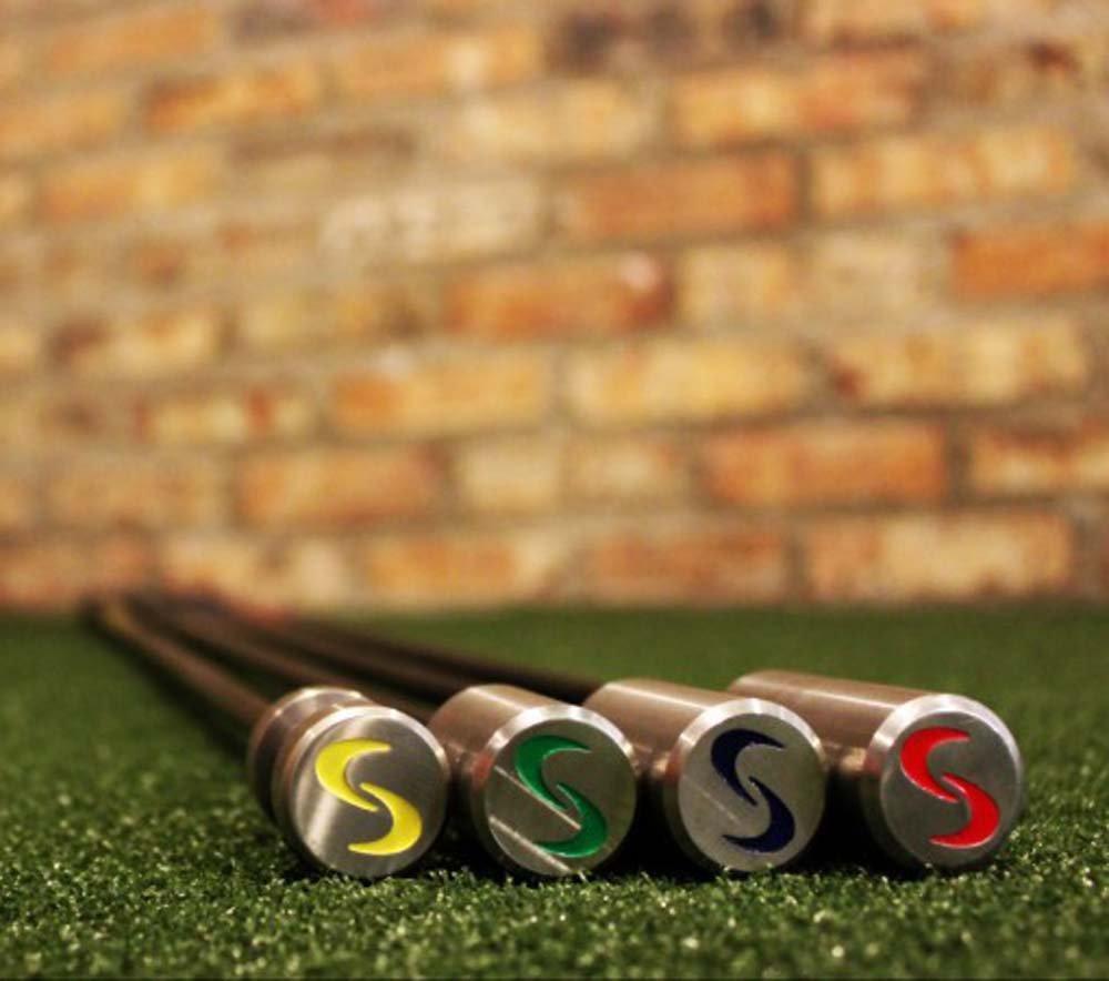 SuperSpeed Golf Coaching Golf Swing Training System 4 Piece Club Set Super Speed