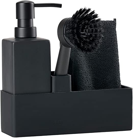 /Utensilios para fregar platos Black Zone Denmark/ sp/ülorganizer para fregar con accesorios
