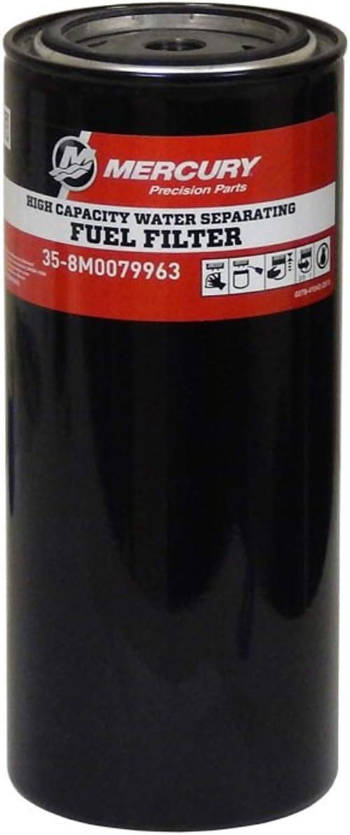 Mercury Marine OEM Water Separating Fuel Filter 35-8M0079963 Fuel Filter