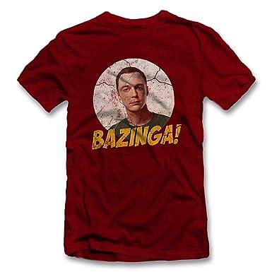 Bazinga 02 Vintage T-Shirt S-XXL 12 Farben / Colours: Amazon.de: Bekleidung