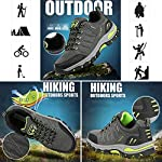 WOWEI Chaussures de Randonnée en Plein Air Imperméable Respirant Antidérapant Bottes de Trekking Promenades Voyages… 11