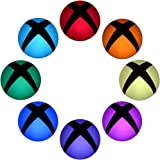 eXtremeRate® 16 pcs(a set) Custom Polychrome Home Button Power Switch Stickers Skin Cover for Xbox One Console