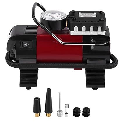 Compresor de aire portátil, 12 V digital Bomba automática de compresor Air de – Inflador