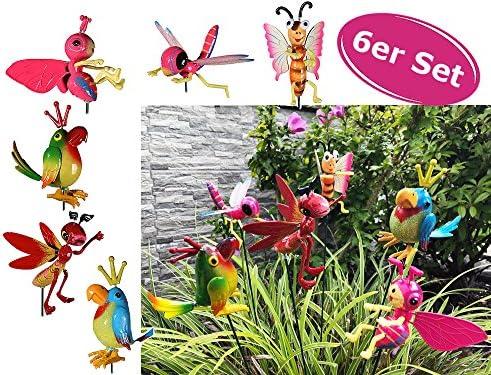Jardín Conector Multicolor Animales – Decoración para Jardín, Terraza Decoración: Amazon.es: Jardín
