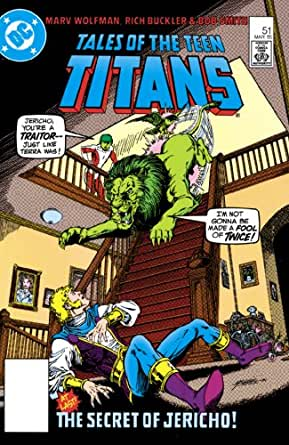 Something and Tales of the teen titans