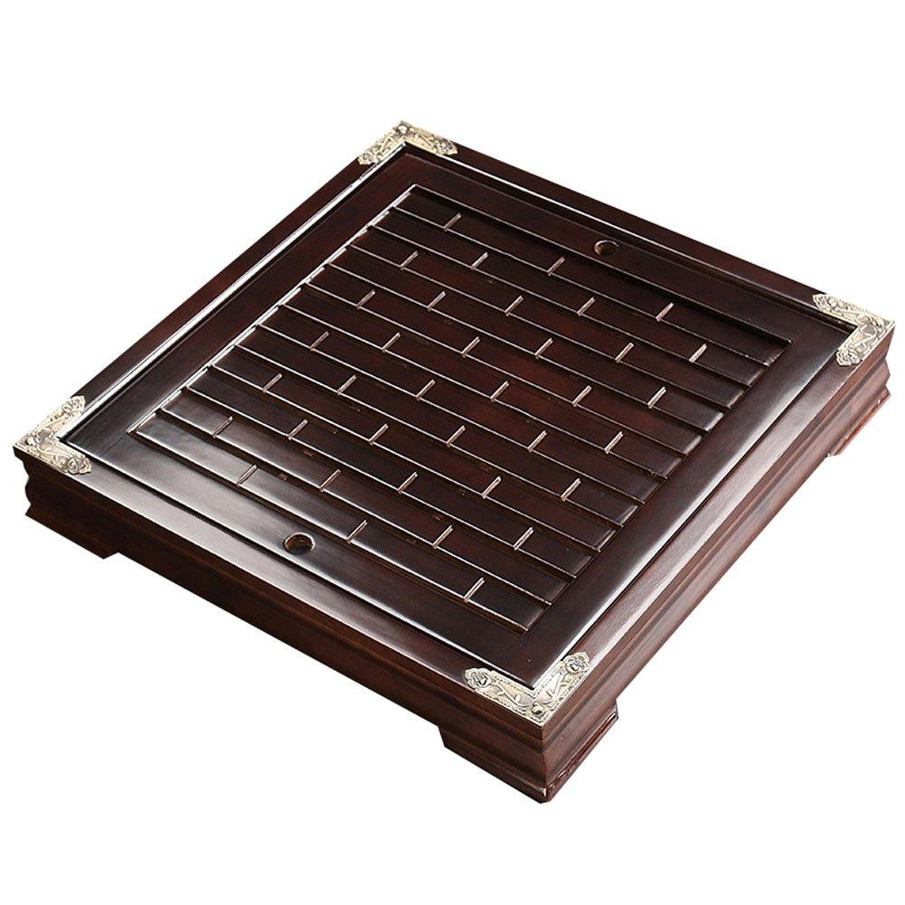 Black Temptation Hölzerner Gongfu-Tee-Tabellen-Tablett-Tabletop-Tee-Behälter, 11
