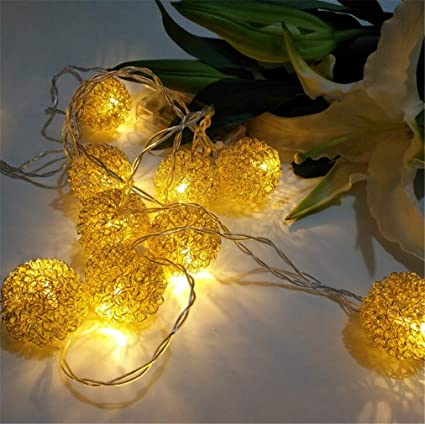Amazon.com: SPP PANDA String Lights Room Decoration Light Christmas ...