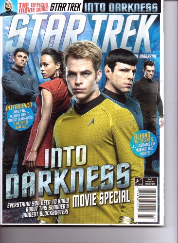 Costumes Book Trek Star (STAR TREK Magazine - INTO DARKNESS Movie Special. #45. June/July)