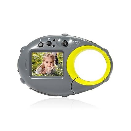 Amazon.com: FLAGPOWER - Cámara digital para niños (tarjeta ...
