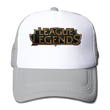 2828130c3 League Of Legends Logo Baseball Hats Sports Mesh Cap at Amazon Men's ...