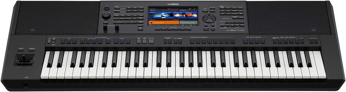 Yamaha PSRSX700 Arranger Teclado estación de trabajo