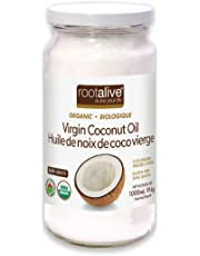 Rootalive Organic Virgin Coconut Oil, 1000-Milliliter
