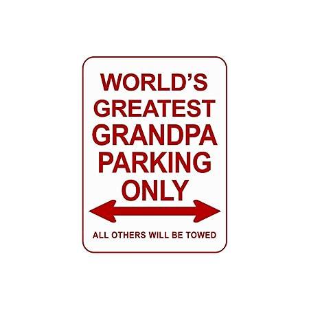 Carteles de aparcamiento decorativos para papá y abuelo, 12 ...