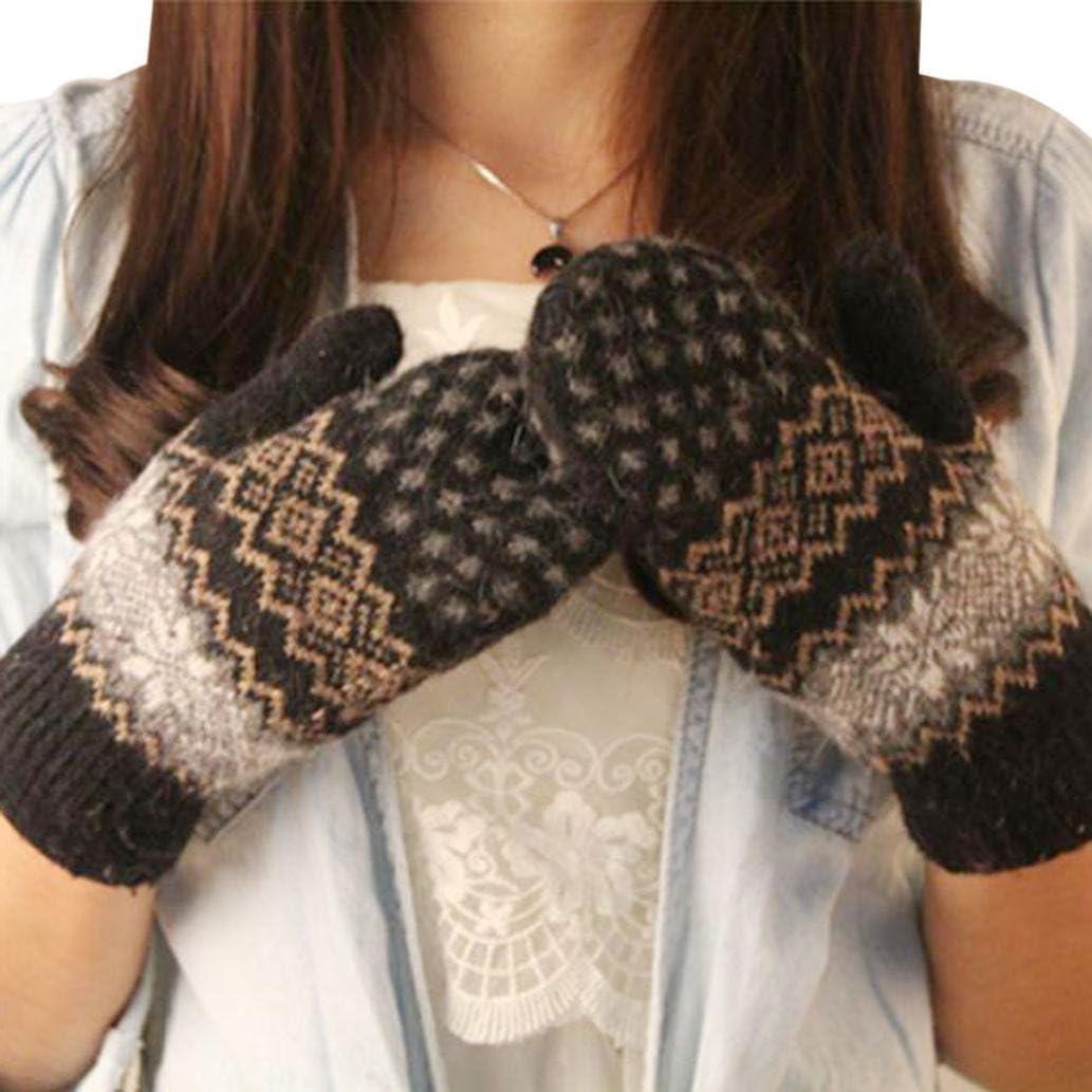 DZT1968® Knit Wool Women...