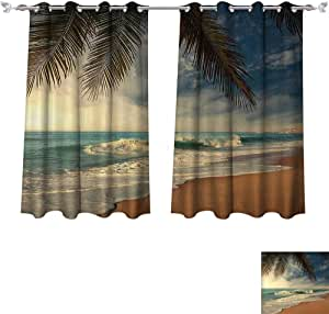 Amazon.com: Thermal Insulated Blackout Grommet Curtain ...