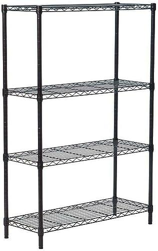 Shelf 4 Tier Metal Shelving Rack Garage Office Kitchen Storage Unit Wire Utility