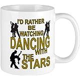 CafePress Keep Rather Be Dancing With The Stars Mug Unique Coffee Mug, Coffee Cup