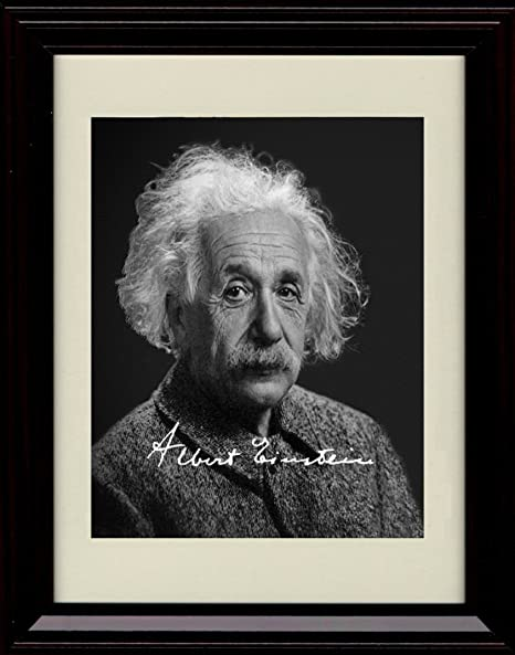 ALBERT EINSTEIN PORTRAIT 8X10 PHOTO