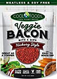 COOL FOODS, VEG BACON BIT+DIP, HICKORY, Pack of 12, Size 3 OZ - No Artificial Ingredients Dairy Free Gluten Free Vegan Wheat Free