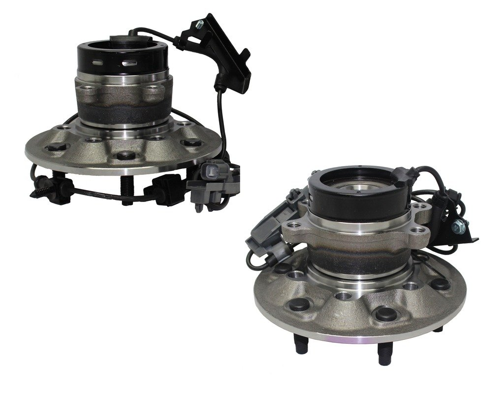 Detroit Axle 4x4 ONLY Both (2) New Front Driver & Passenger Side Complete Wheel Hub and Bearing Assembly Chevrolet Colorado 4x4 ABS