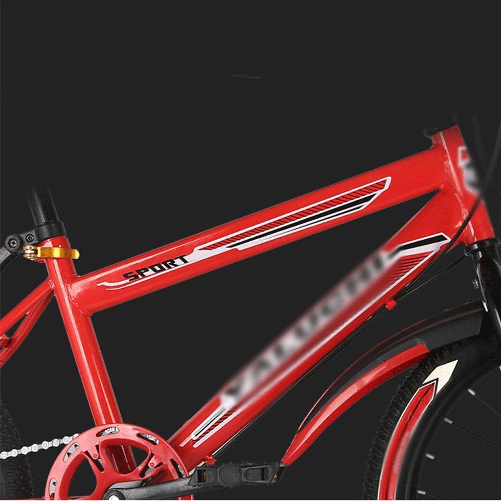 自転車 子供のマウンテンバイクレッドスピードシフトパッケージ18/20/22インチ男性と女性の小中学生 (サイズ さいず : 18 inch) B07DZVWYLR 18 inch 18 inch