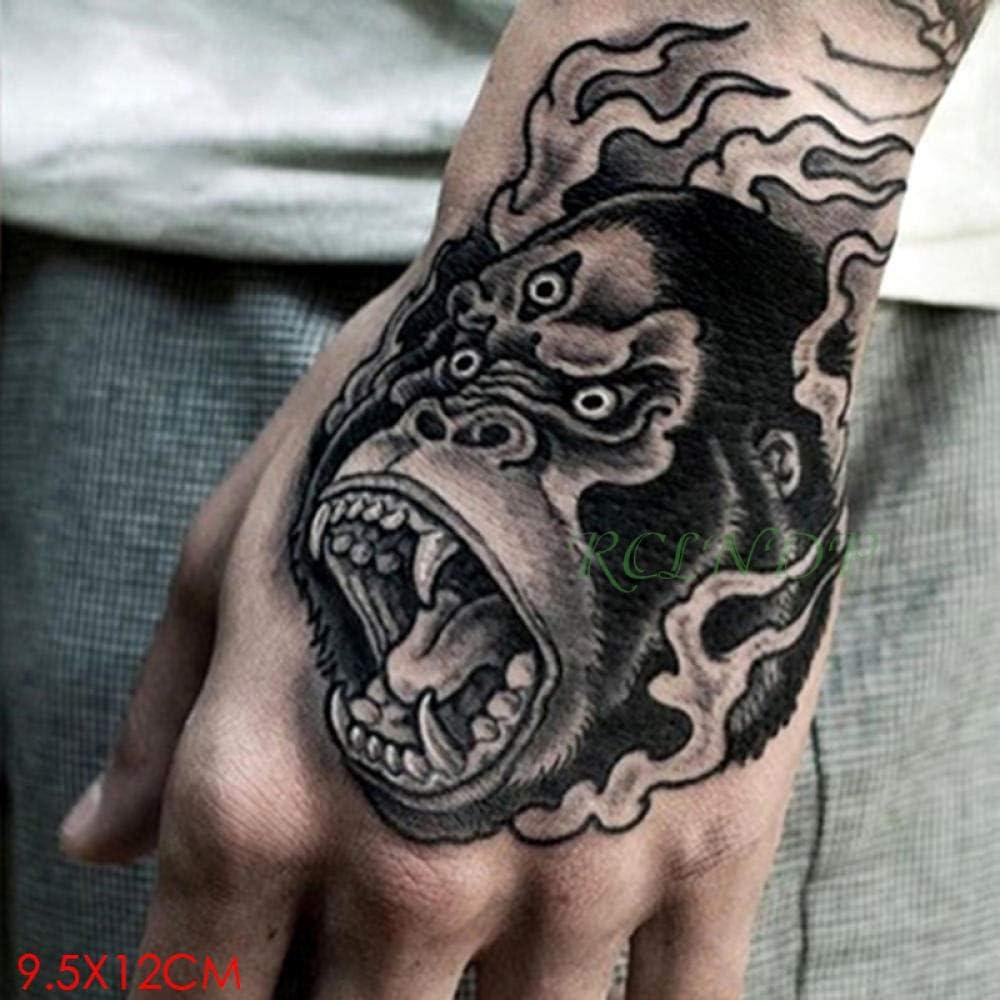 Tatuaje temporal a prueba de agua pegatinas rey león corona ...