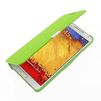 MTRONX para Funda Samsung Galaxy Note 3, Cover Carcasa Case Caso Ultra Folio Flip Cuero Delgado Piel con Cierre Magnetico para Samsung Galaxy Note 3 - ...