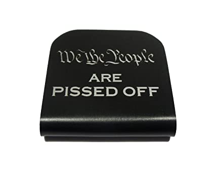 4959834ffe21 We The People are Pissed Off Morale Tags Hat Clip for Tactical Patch Caps