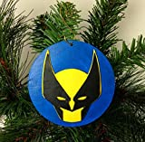 Wolverine Ornament | X-Men | Marvel | Comic Book Gifts | The Avengers | Fantastic Four | Stan Lee | Rear View Mirror | Gift Exchange -  Zap on the Go
