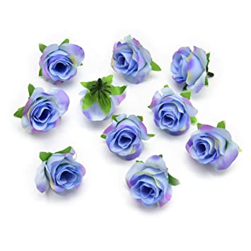 Buy Artificial Flower Heads In Bulk Wholesale For Crafts Silk Rose