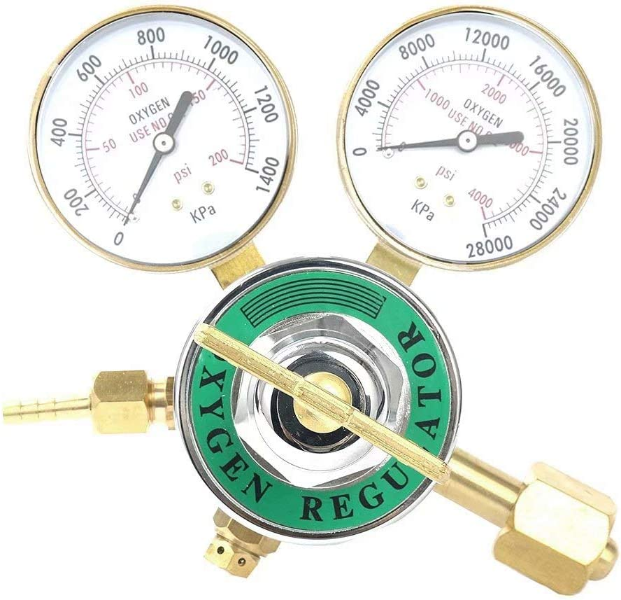 Welding Gas Welder Acetylene Pressor Regulator for Harris Victor Torch Cutting Golden