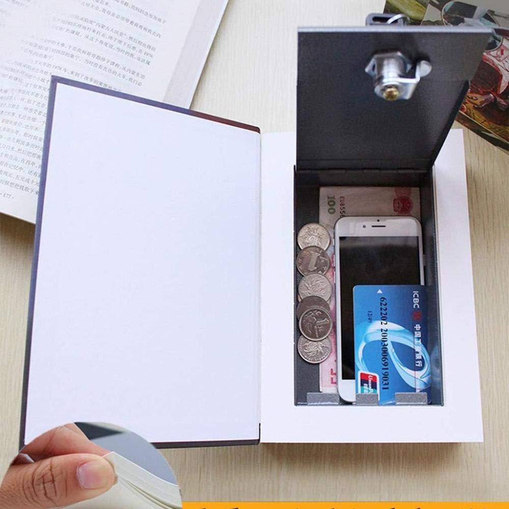 Book Collection Box Libro Desv/ío Caja Almacenamiento Segura Little Prince Ferryman Libro Simulaci/ón Caja Fuerte Acero Dos Cifrados Caja Hucha En El Estante Caja Fuerte,Ferryman-Lock Opener