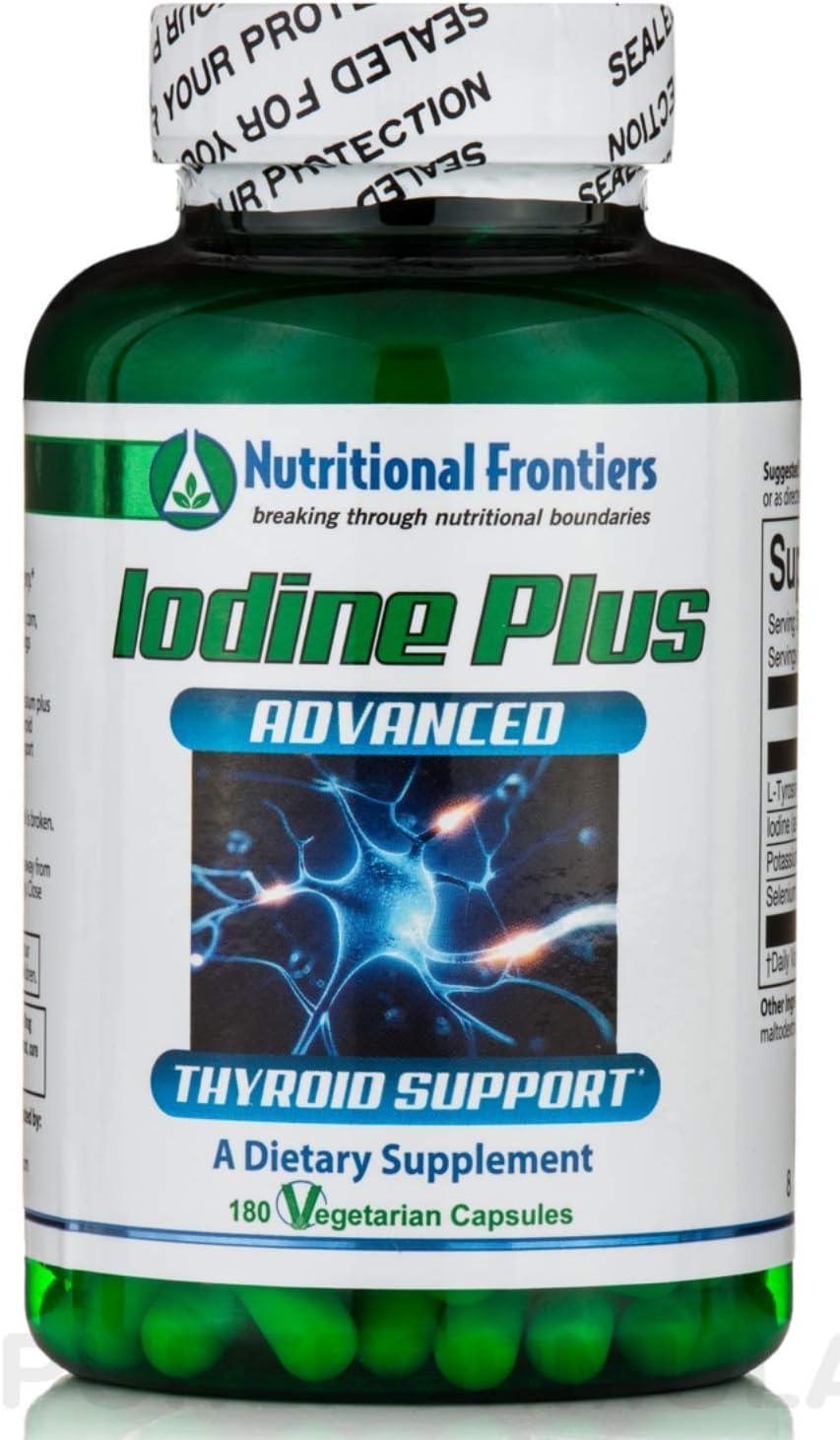 Nutritional Frontiers - Iodine Plus - 180 Vegetarian Capsules