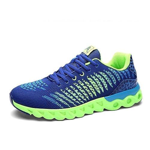 Zapatos de Mujer Suela de Punto Ligero Zapatillas de Deporte, Moda Zapatos de Tendencia atlético, Calzado Casual, para Piso, Pista, Campo: Amazon.es: ...
