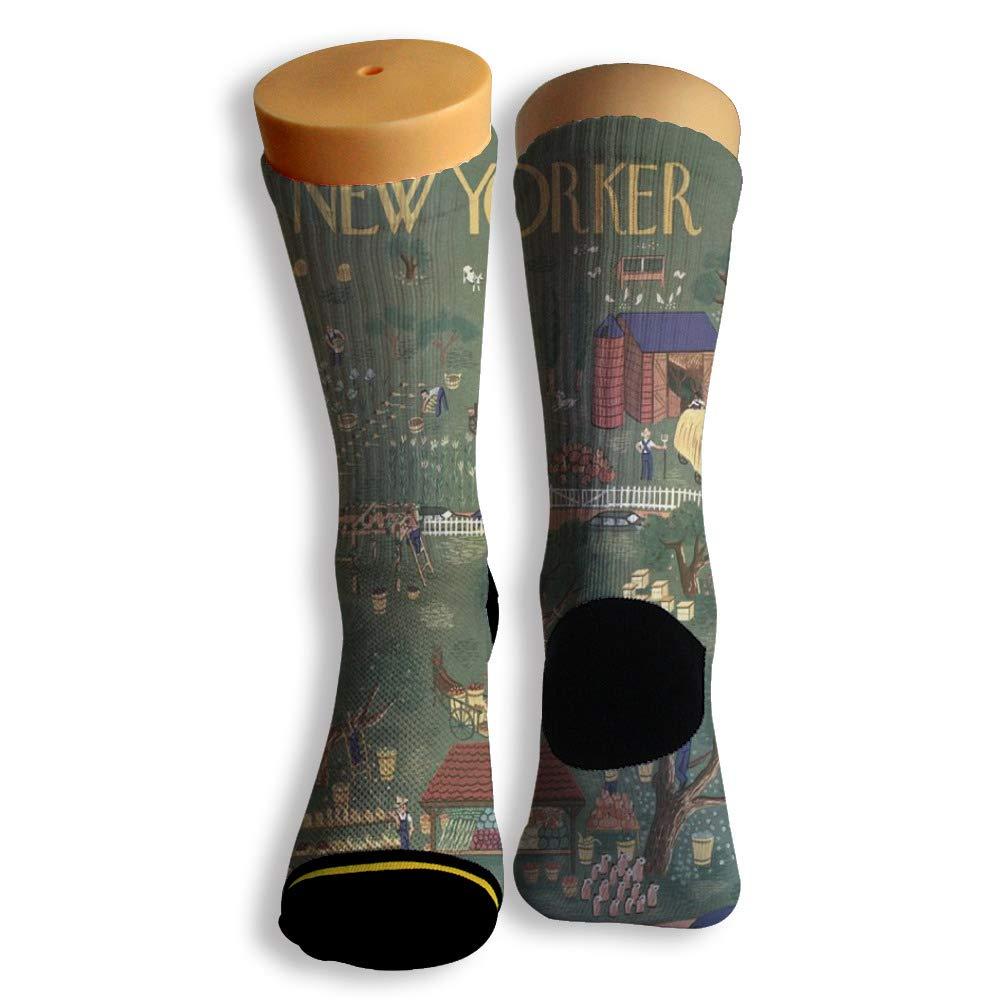Basketball Soccer Baseball Socks by Potooy I Love New York Graffiti 3D Print Cushion Athletic Crew Socks for Men Women