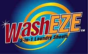 Sweepstakes: WashEZE 3-in-1 Laundry Detergent Sheets - Scented