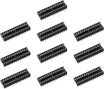 10 PCS INTEGRATED CIRCUIT SOCKETS DIP28