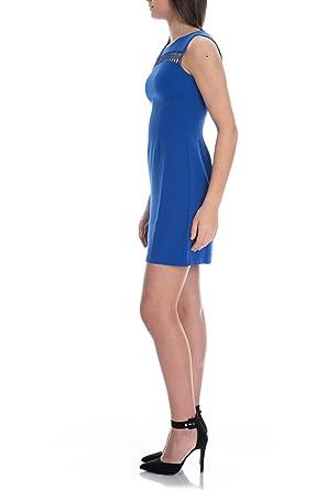 Guess Abito Donna MOD.W92K73 WB4H0 Blu: Amazon.it: Abbigliamento
