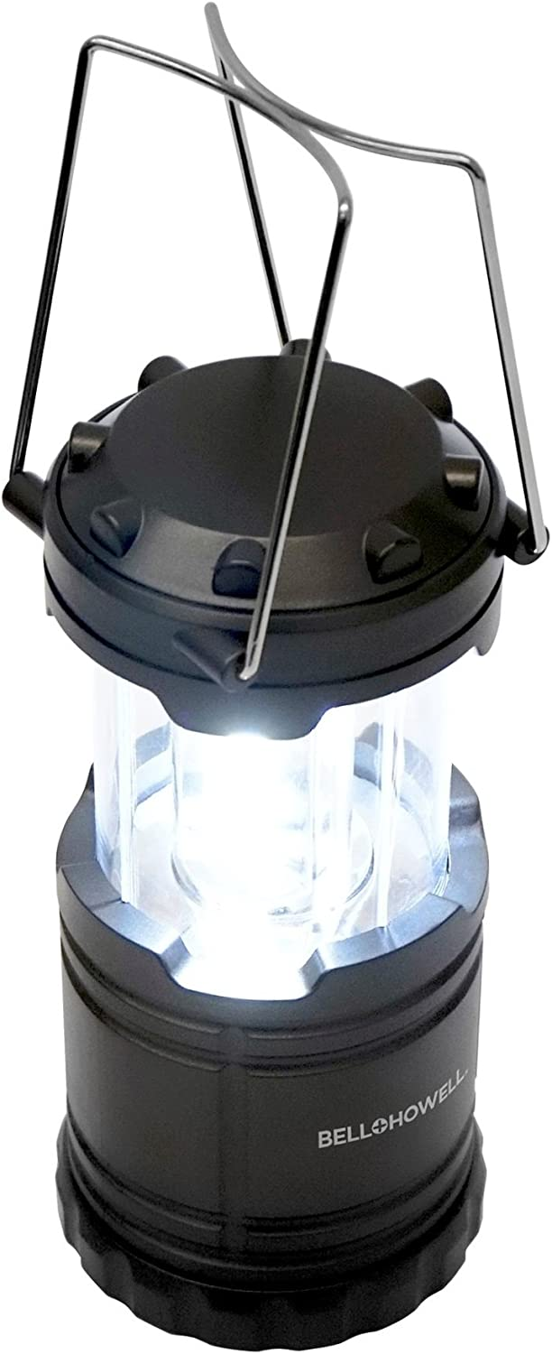 Enkeeo 2-in-1 Camping Lantern Tent Light Mosquito Killer Retractable Hook Portable IPX6 Waterproof Bug Zapper LED Lantern with 2000mAh Rechargeable Battery Removable Lampshade