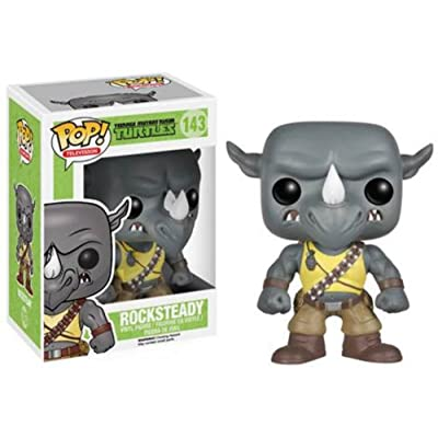 Funko POP Television (VINYL): TMNT - Rocksteady: Funko Pop! Television: Toys & Games