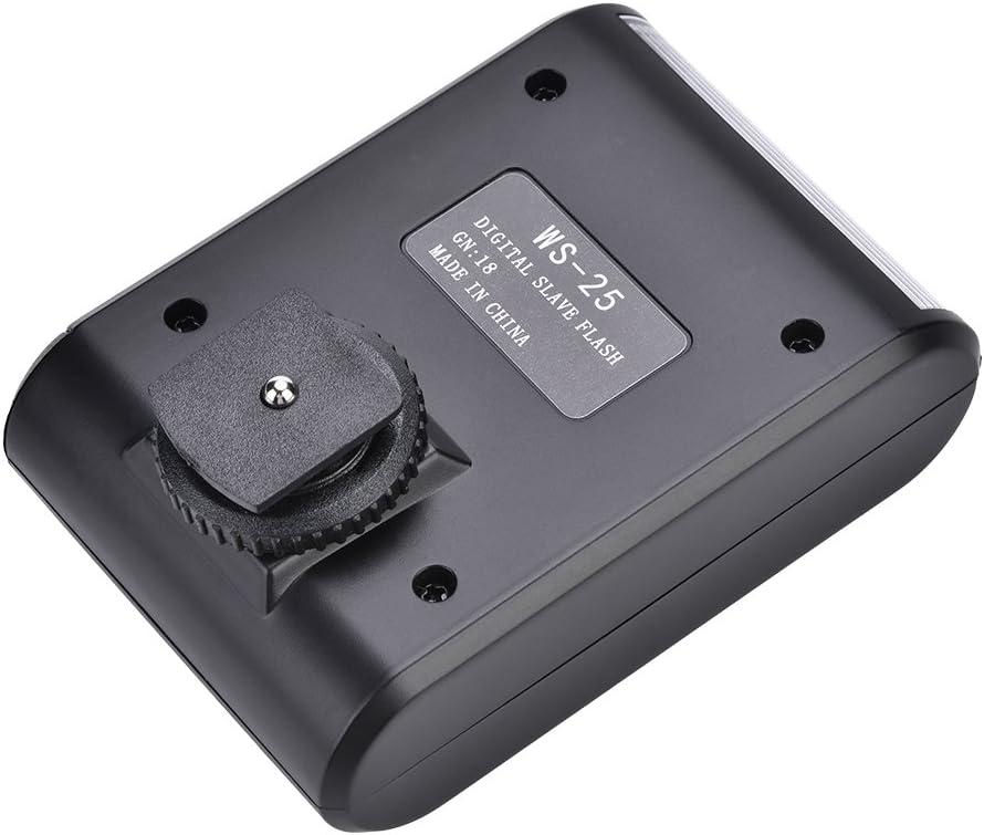 Hot Shoe Mount Flashlight for DSLR Cameras Portable Digital On-Camera Flash Speedlite Mini Flashlight