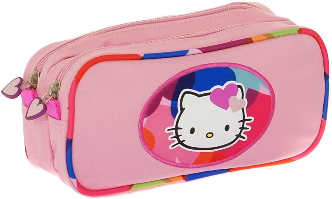 Estuche rosa Hello Kitty para ni–a: Amazon.es: Zapatos y complementos